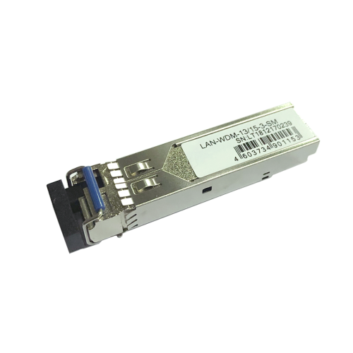 Модуль SFP WDM 1.25G, 1310nm / 1550nm, 3 km, LC, DDM, Cisco
