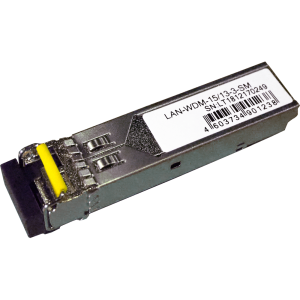 Модуль SFP WDM 1.25G, 1550nm / 1310nm, 3 km, LC, DDM, Cisco