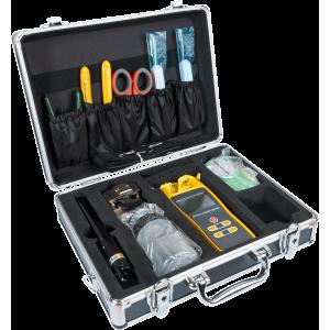 Набор инструментов для работы с волокнами оптического кабеля