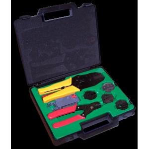Набор инструментов для работы с коаксиальным кабелем