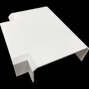 Т-соединитель для короба 120х50 мм, белый