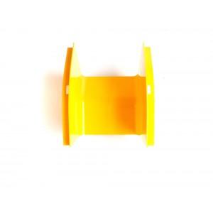 Внешний изгиб 45° оптического лотка, желтый