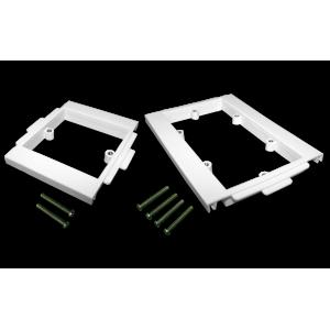 Пластиковый суппорт 45Х90, под винт, в короб 100 мм