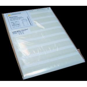 Маркеры кабельные самоламинирующиеся для печати на лазерном принтере
