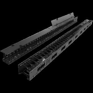 Вертикальные органайзеры повышенной емкости, для шкафов Business, 2 шт., черные