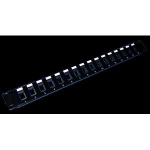 Патч-панель наборная, 16 портов, 1U