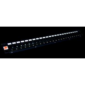 """Патч-панель наборная 19"""", UTP, 24 порта, 1U"""