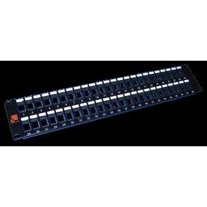 """Патч-панель наборная 19"""", UTP, 48 портов, 2U"""