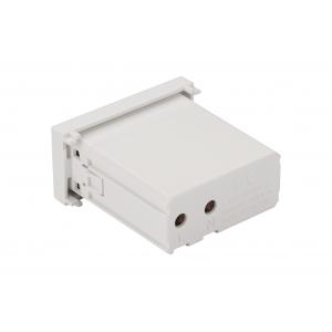 Модуль USB-зарядки, 1 порт USB-A, 2.1A/5V, 22.5x45, белый