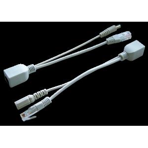 Пассивный комплект POE (PSE+PD), разъем питания 2.1 мм